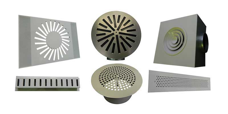 Bespoke Grilles Selection