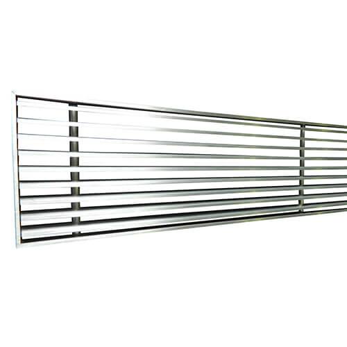 Linear Bar Air : Linear bar grille plaster in grilles rcm
