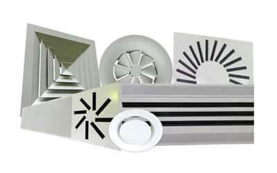 Grilles And Diffusers