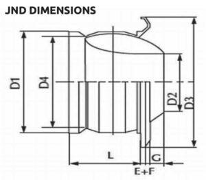 Jet Nozzle Diffuser Dimensions
